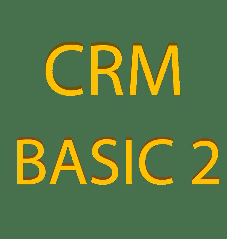 CRM – BASIC 2