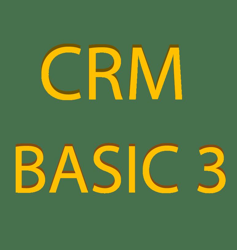 CRM – BASIC 3